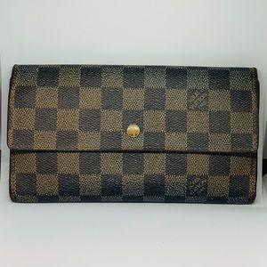 Louis Vuitton Damier Porte-Tresor Wallet